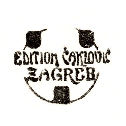 Edition Čaklović, Zagreb