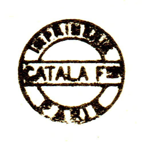 Catala Frères, Paris (printer)