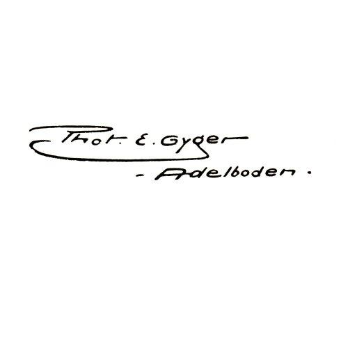 Photoverlag E. Gyger, Adelboden