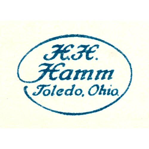 H.H. Hamm, Toledo, Ohio