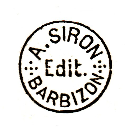 A. Siron, Barbizon