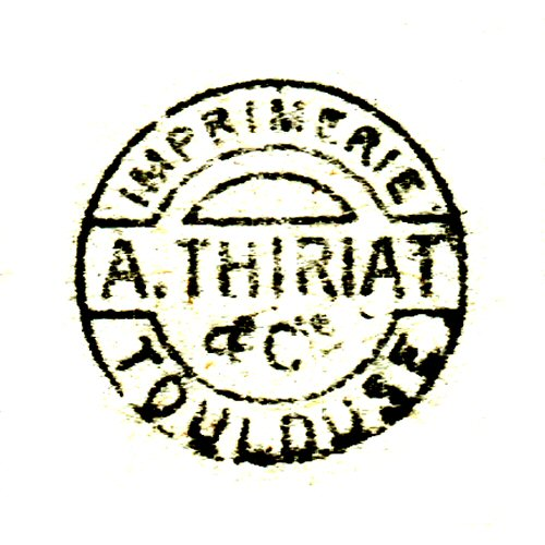 A. Thiriat & Cie, Toulouse (printer)
