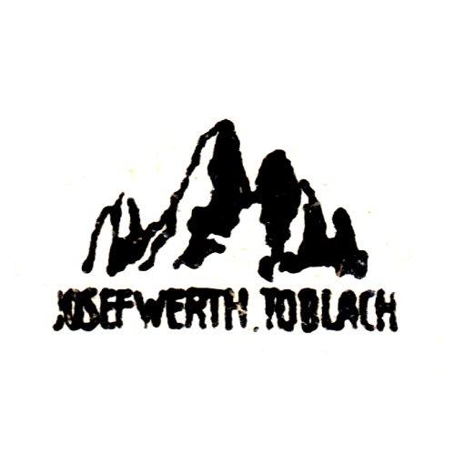 Josef Werth, Toblach
